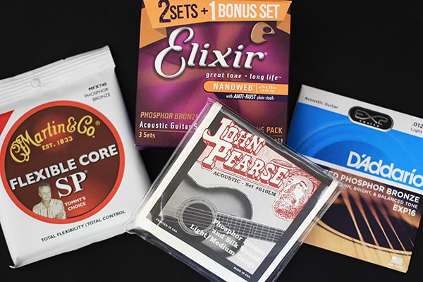吉他弦推薦 - 四種常見品牌