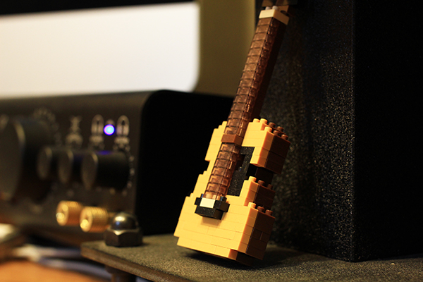 台南吉他教學 - 樂吉他錄音環境