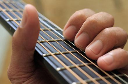 吉他保養 - 指板