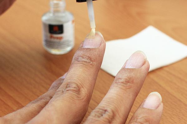 右手指甲 - 光療2