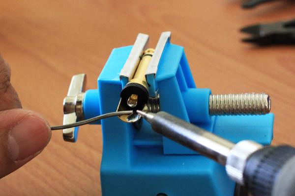 木吉他導線 - 導線頭預上焊錫