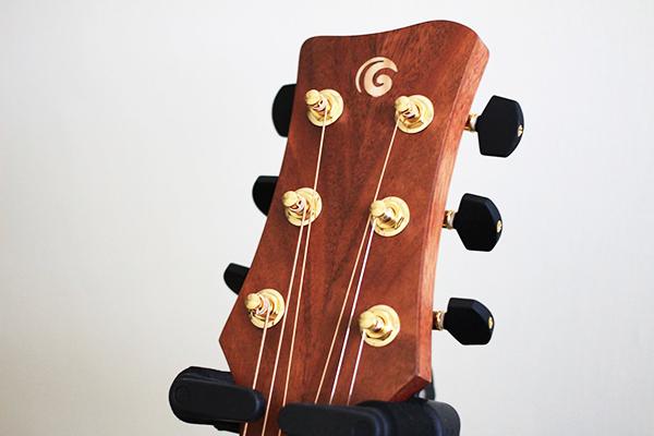 gomans吉他 - 琴頭