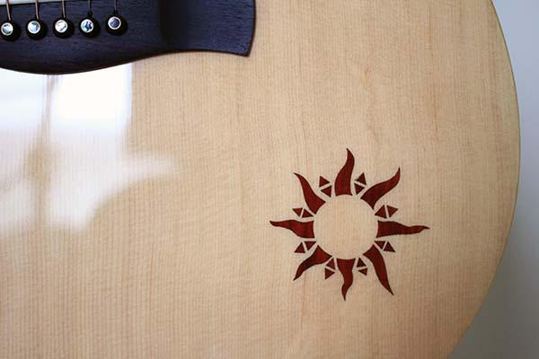 ayers吉他 - 面板鑲嵌